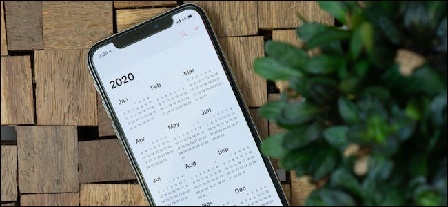 Apple iPhone Calendar App