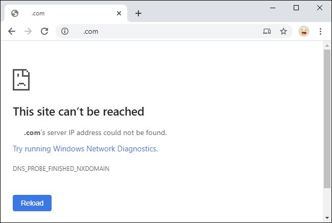 Cloudflare DNS error after enabling parental controls.