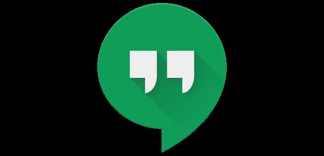 Google Hangouts logo.
