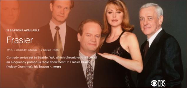 Frasier Hulu