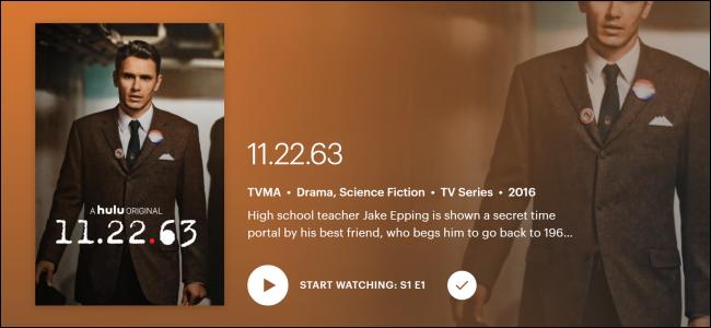 """Hulu Original """"11.22.63."""""""