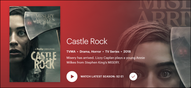"Hulu Original ""Castle Rock."""