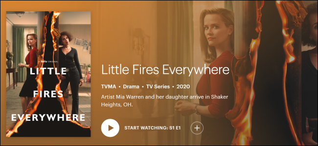 "Hulu Original ""Little Fires Everywhere."""