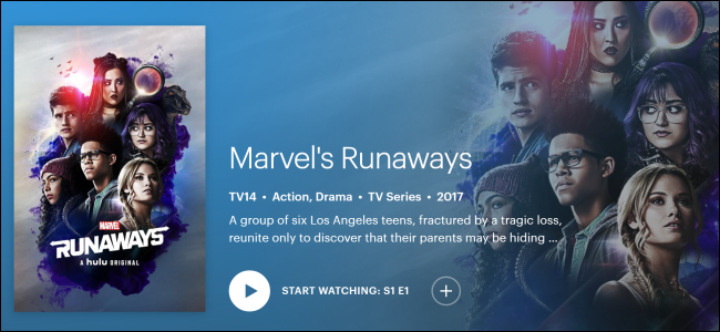 "Hulu Originals ""Marvel's Runaways."""