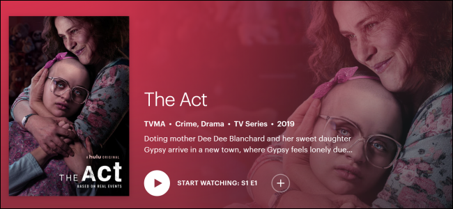 Hulu Originals The Act