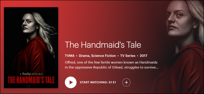 "Hulu Original ""The Handmaid's Tale."""