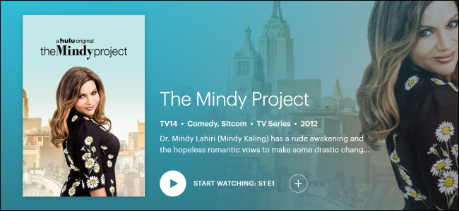 "Hulu Original ""The Mindy Project."""