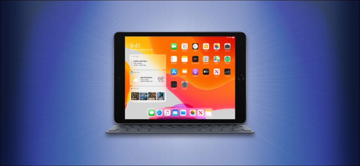 Apple iPad with Keyboard Hero Image