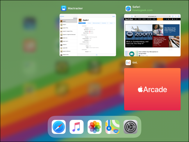 App Switcher on iPad after app was closed