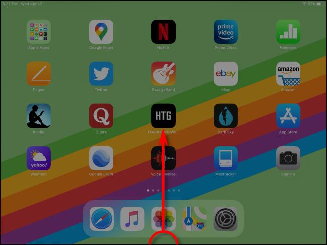 Cómo iniciar App Switcher en iPad