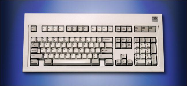 The IBM Model M Keyboard - IBM 101-Key Enhanced Keyboard