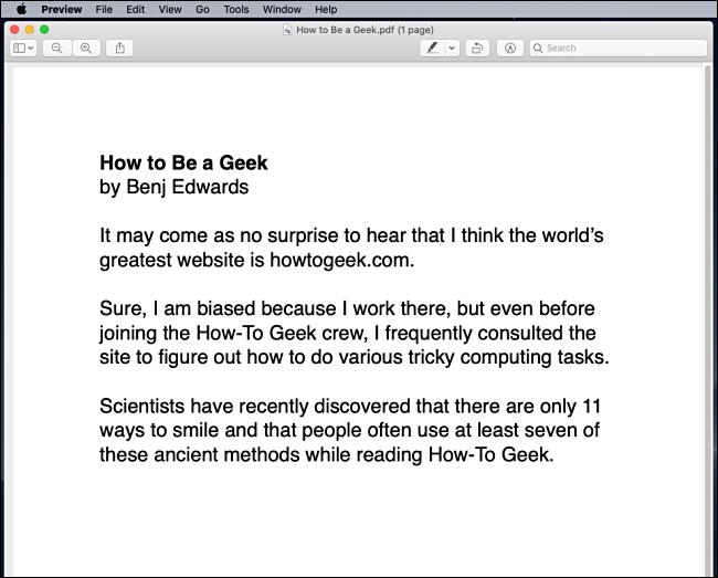PDF printing results in macOS