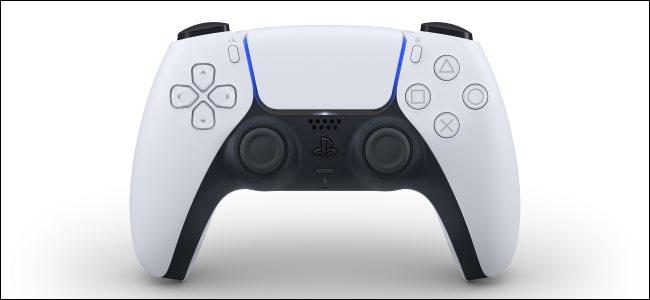A PS5 DualSense Controller.