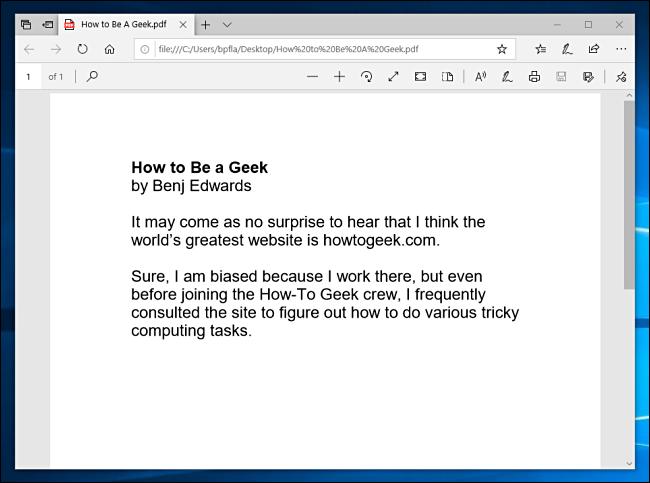 Un documento PDF impreso en PDF.