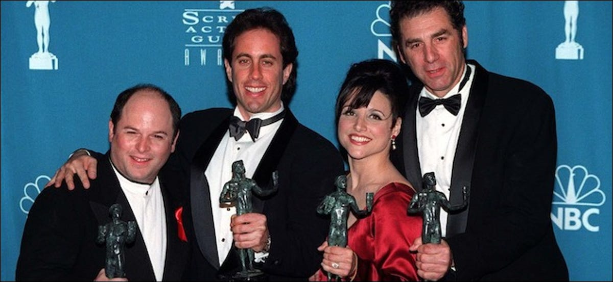 Seinfeld cast at awards event
