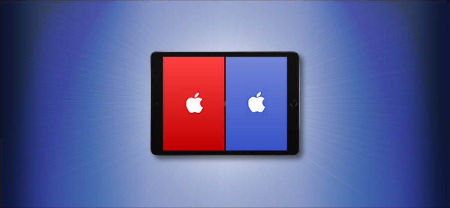 Example of Apple Split View on iPad