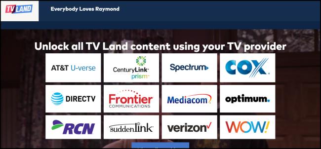 TVLand Everybody Loves Raymond