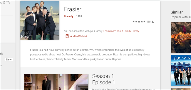 Frasier Google Play
