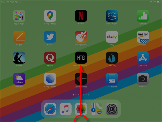 How to Launch App Switcher on iPad