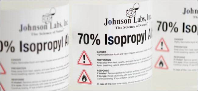 70 Percent Isopropyl Alcohol