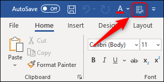 """The """"Options"""" command added to the toolbar."""