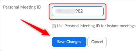 Change your PMI and save the changes