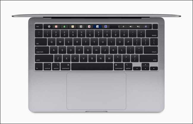 Magic Keyboard en MacBook Pro de 13 pulgadas