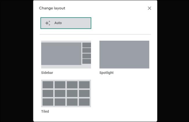 Meet Change Layout Screen