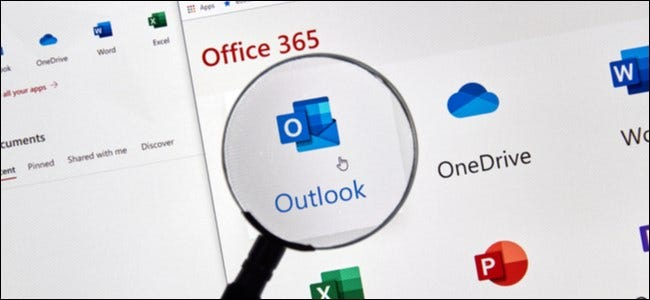 Microsoft Office in a Magnifying Glass