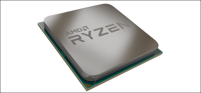 A render of an AMD Ryzen processor.