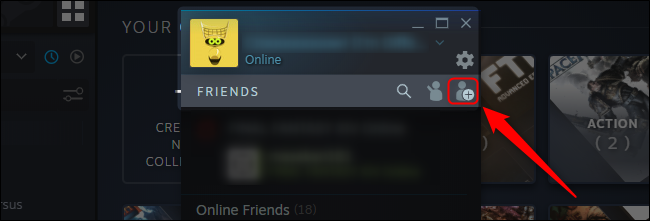 Steam Add A Friend Button