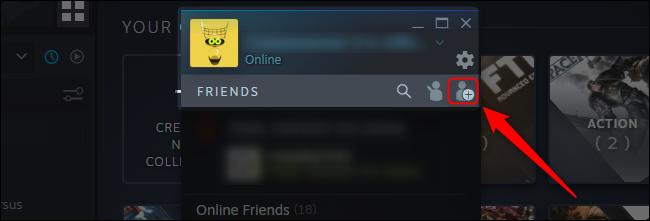 Steam Add A Friend Button