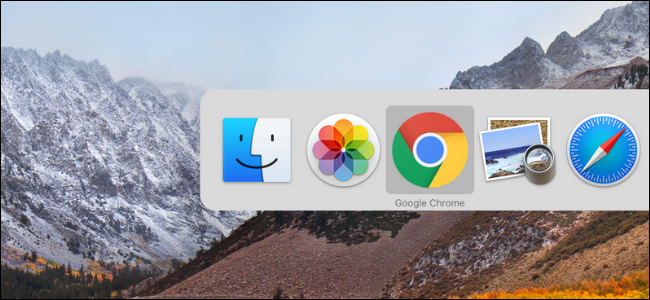 Using App Switcher on Mac to switch between open apps and windows