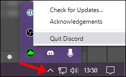 Windows Desktop Tray