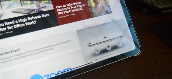 Video de YouTube que reproduce Picture-in-Picture en iPad