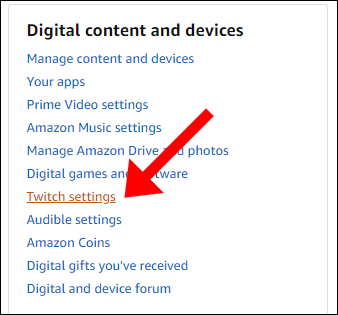 amazon twitch settings