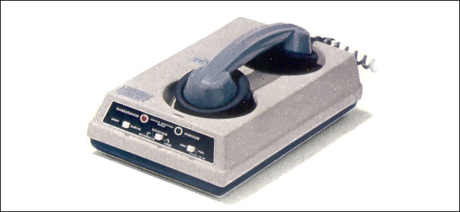 An Anderson-Jacobson Acoustic Modem Coupler.