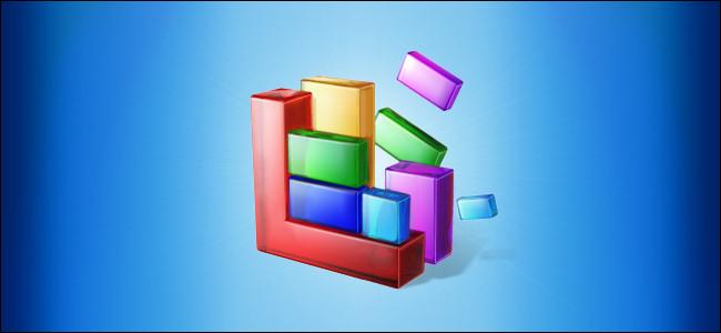 Ikona optymalizacji i defragmentacji systemu Windows 10