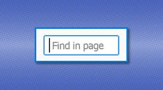 How to Quickly Search For Text on the Current Web Page