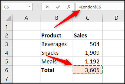 Excel formula to sync cells