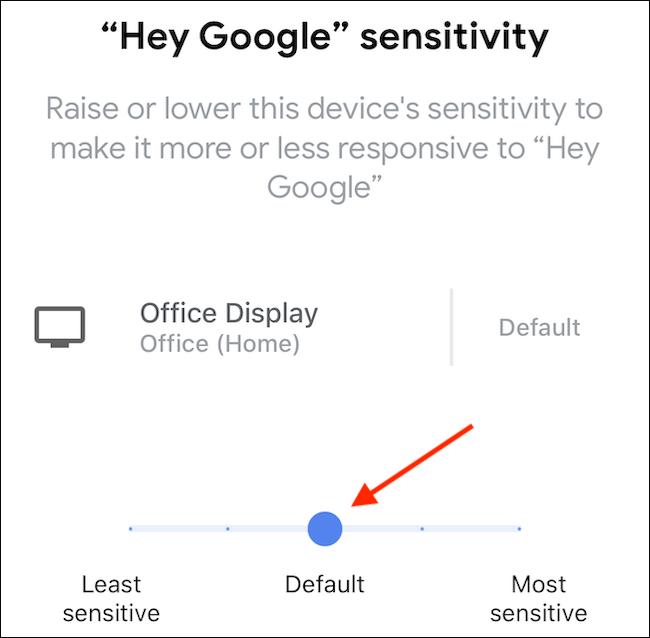 Escolha a configuração desejada e toque no ícone de retorno na parte superior da tela (o ícone menor que).