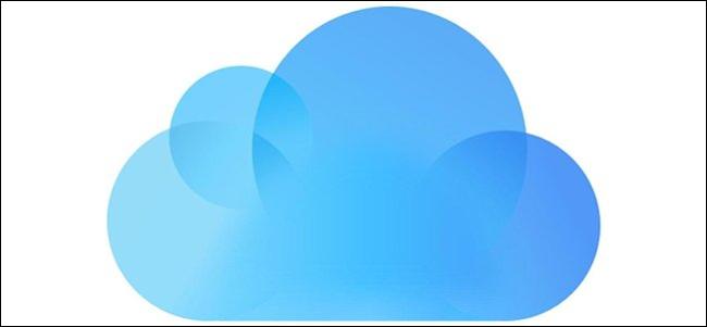 The iCloud logo.