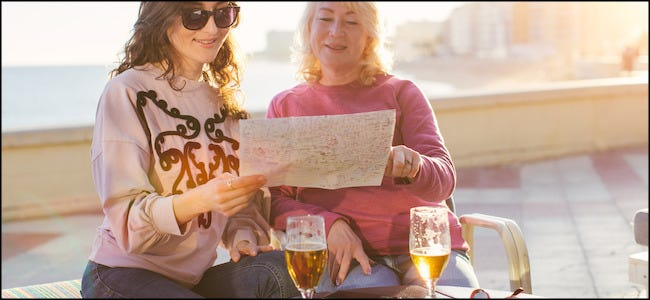 Two Women Drinking Beers
