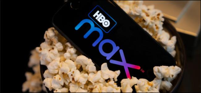 HBO Max in a Popcorn Bowl