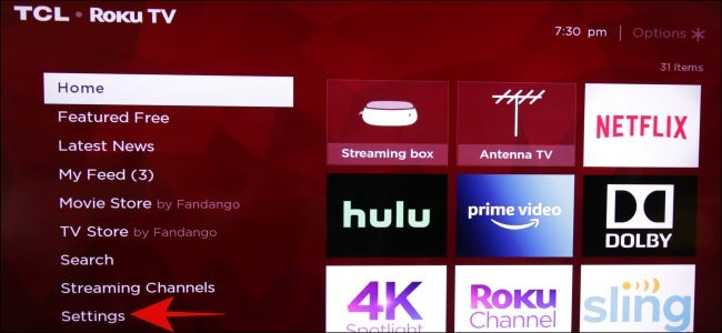 Roku Settings