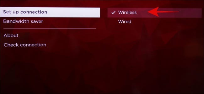 Roku Wireless Internet Set Up