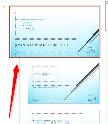 Click the top slide.