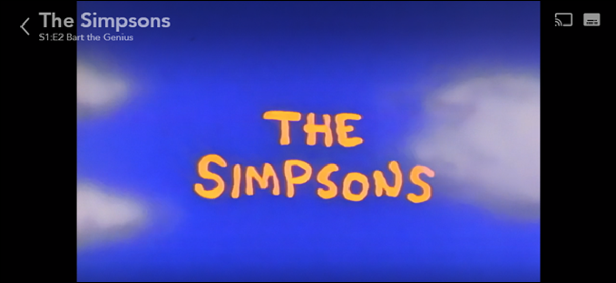 The Simpsons in 4:3 aspect ratio