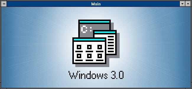 Windows 3.0 Program Manager Icon