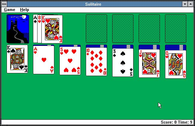 Microsoft Windows 3.0 Solitaire